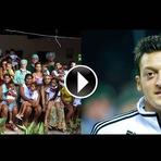 Copa do Mundo - Copa 2014: Mesut Özil tetracampeão, Doa prêmio para cirurgia de 23 crianças brasileiras