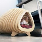 Design moderno para gatos e cachorros