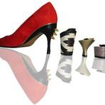 Mulher - Os sapatos que trocam o salto