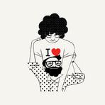 Design - Love & Old Flames - Ilustrações de Simone Massoni