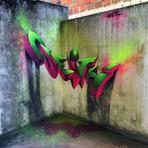 Design - Artista cria Grafite em 3D em muros pelo mundo