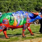 Curiosidades - O concurso chinês de pintura corporal em búfalos