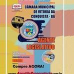 Concursos Públicos - Apostila Impressa e digital CÂMARA de Vitória da Conquista Concurso Público 2014