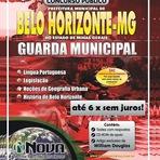 Concursos Públicos - Apostila Guarda Municipal BH Concurso Público GMBH de Belo Horizonte 2014