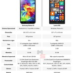 COMPARATIVO: Samsung Galaxy S5 vs Lumia 930