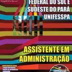Apostila UNIFESSPA 2014 - Assistente em Administração