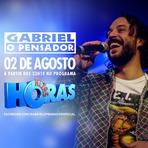 Música - Gabriel o Pensador, no programa  Altas Horas dia 02 de Agosto