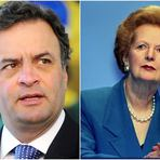 Conservadores querem que Aécio Neves aplique receita de Thatcher no Brasil