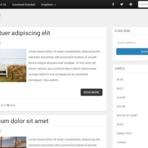 Blogosfera - Standard - Um tema Bootstrap 3 responsivo para blogger