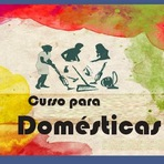 Livros - Lançamento - Curso para domésticas - Maria de Lourdes de Oliveira -