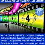 Cinema - Resumo da História do Cinema