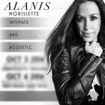"""Alanis Morissette anunciará duas novas datas da sua turnê """"Intimate and Acoustic"""""""