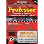 VIDEOAULAS PARA PROVA DE MÉRITO - Professor Educador e Docente - Educação Básica II PEB II