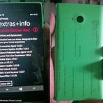 """Suposto Lumia 730 com o novo firmware """"Debian Red''"""" vaza em foto"""