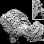 Espaço - Sonda Rosetta encontra cara no cometa 67P (foto)