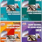 Apostila 2014 ENEM - Exame Nacional do Ensino Médio, volume completo