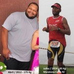 Muita corrida de rua, 2 anos e 90 kilos a menos