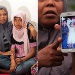 Internacional - Menina da Indonésia reencontra família 10 anos após tsunami