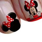 Adesivos da Minnie e Mickey