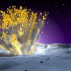 Espaço - Poderá haver fósseis dos primeiros seres vivos da Terra na lua?