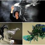 Meio ambiente - 4 trabalhos de artistas que transformam lixo em arte