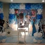 Outros - Decoração de festa infantil tema Frozen