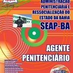 Apostila Concurso SEAP / BA  AGENTE PENITENCIÁRIO - 2014