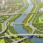 Como ficaria a marginal do rio Tietê se o verde retornasse?