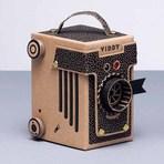 Fotos - A câmera, feita de papelão e sem lente, que funciona de verdade