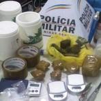 Utilidade Pública - Polícia fecha laboratório de refino de drogas em Cláudio, MG