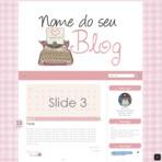 Blogosfera - Layout personalizado para Blogger - A pronta entrega
