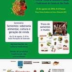 Meio ambiente - VII Feira de Troca de Sementes e Mudas Tradicionais dos quilombos do Vale do Ribeira