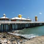 Pontos turísticos em Fortaleza