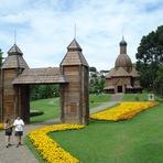 Pontos turísticos em Curitiba