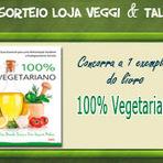 Promoções - Sorteio de 1 livro 100% Vegetariano
