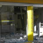 Quadrilha explode agências bancárias em Itapiúna.