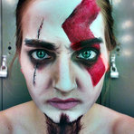 Pintura -  As incríveis maquiagens hiper-realistas de Elsa Rhae