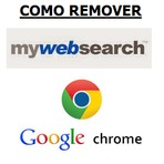 Remover excluir Mywebsearch do navegador Google Chrome virus