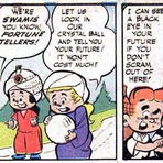 Horrores Bizarros encontrados nos quadrados do Comic Book