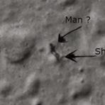 Espaço - Detectada sombra de um extraterrestre na Lua? (Com video)