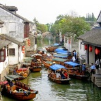 A cidade da água de Zhouzhuang