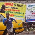 Internacional - Fato: A situação do Ebola começa a fugir do controle.