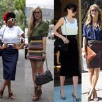Mulher - Dicas para usar saia lápis com quadril largo