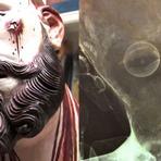 Ciência - Cientistas Descobrem algo aterrorizante a respeito de estátua antiga de Jesus.