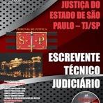 TJ/SP - Apostila Escrevente Técnico Judiciário 2014