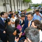 Entrevista de Aécio Neves sobre Marina Silva, agronegócio e segurança pública