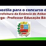 Apostila para o Concurso da Prefeitura da Estância de Atibaia para Professor Educação Básica