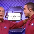 Globo tenta a transmissão de luta de Anderson Silva ao vivo.