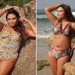 Moda praia para gordinhas modelos 2015