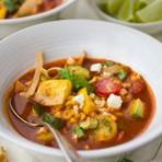 Receita de Sopa Asteca. Receita